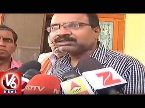 Sushma Swaraj : Making Arrangements To Transport Mortal Remains Of Srinivas To Hyderabad | V6 News