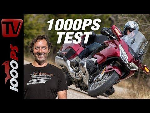 1000PS Test - Honda Gold Wing 2018 - Das neue Touren-Flaggschiff? ENGL Subs