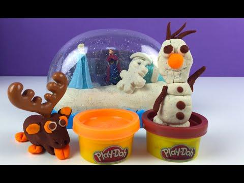 globo-de-nieve-brilliante-playdoh---sparkle-snow-dome-anna-y-elsa-de-frozen---olaf-y-sven-juguetes