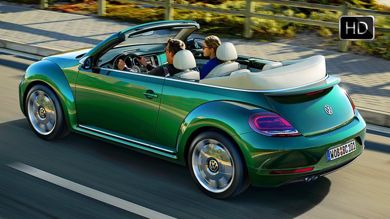 2017 Volkswagen Beetle Convertible Exterior Interior Design Road Drive Hd