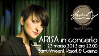 Arisa Radio 1 Concerto Saint Vincent 22 marzo 2013