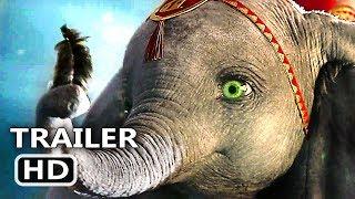 DUMBO Trailer Brasileiro LEGENDADO # 3 (NOVO 2019) Tim Burton