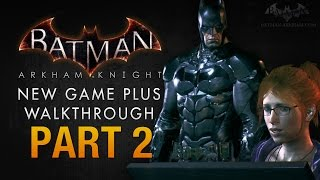 Batman: Arkham Knight Walkthrough - Part 2 - The Falcone Shipping Yard