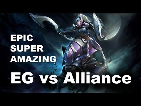 EG Alliance Game 2 Starladder 9 Most Epic Match Dota 2
