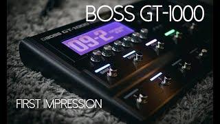 BOSS GT-1000 - La nostra recensione con esempi a cura di Ceccherini Music.