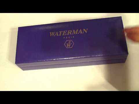 Waterman fountain pen review