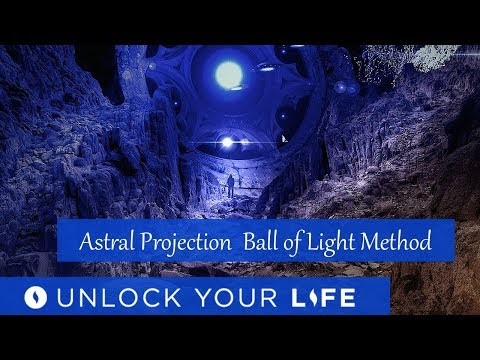 Beginner's Astral Projection Hypnosis | Ball of Light and Magnetic Pull Methods