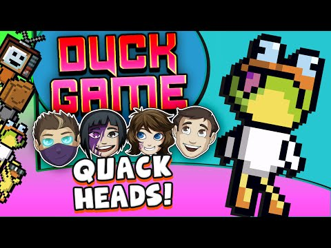 DUCK GAME - Quack Heads