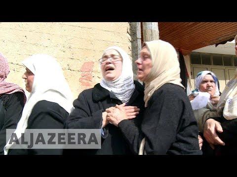 Palestinian Killed In Israeli Raid Buried