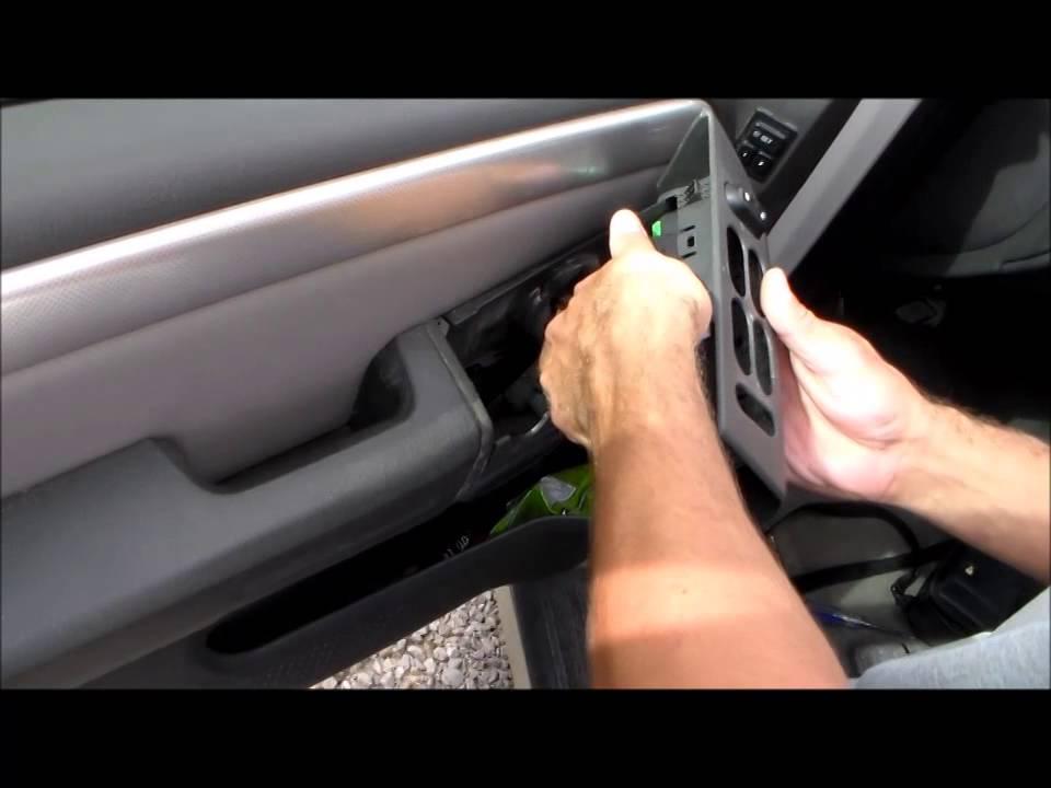 2001-2005 Ford Explorer / Mercury Mountaineer master power window switch on