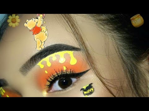d5256d78ad18 WINNIE THE POOH INSPIRED MAKEUP LOOK