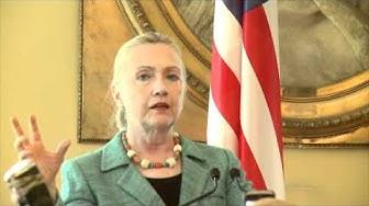 Tuomioja - Clinton Press Conference