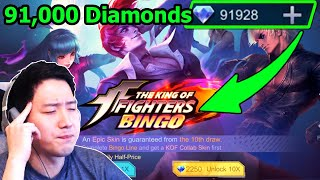Download lagu How much should we spend diamonds for KOF and all limited Epic skins? | Mobile Legends