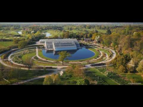 RHS Garden Wisley from the sky