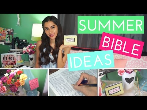 Summer Bible Ideas + DIY Devotional