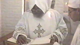 قداس للمتنيح نيافة الانبا كيرلس اسقف ميلانو
