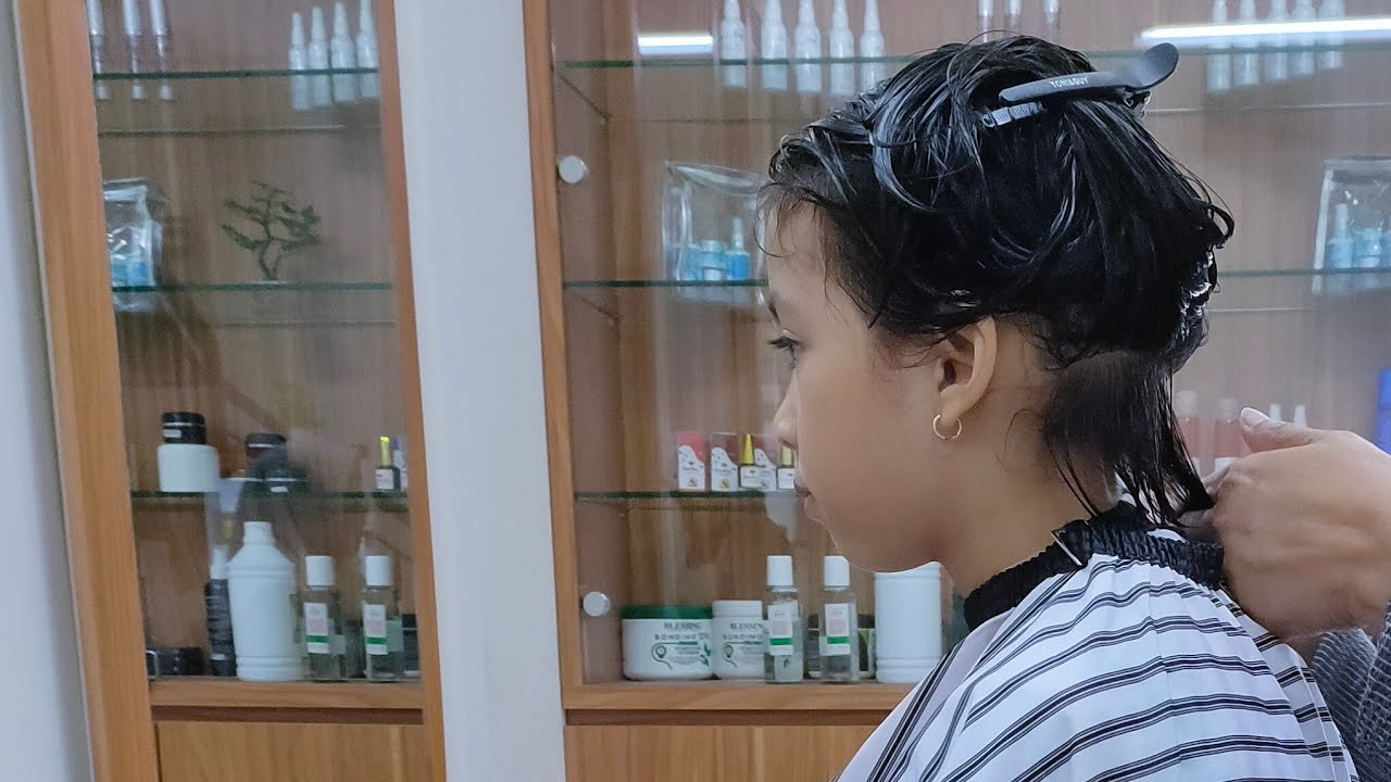 Potong Rambut Anak Gaya Zalfa 2020 - YouTube