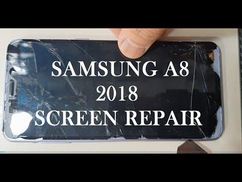 Samsung A8 2018 Screen Repair Guide Step By Step