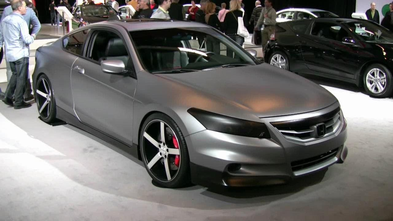 Elegant 2012 Honda Accord V6 Coupe Remix Exterior And Interior At 2012 Montreal  Auto Show   YouTube
