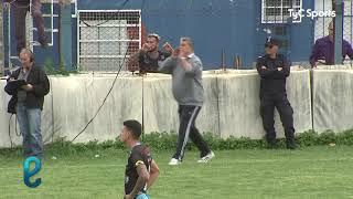 Expulsaron a Luis Ventura en Victoriano Arenas y se fue re caliente con el árbitro
