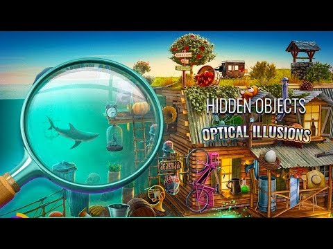 Optical Illusions - Hidden Objects Games Android ᴴᴰ