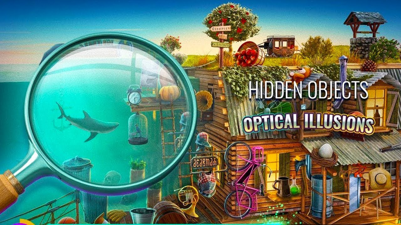 hidden optical illusions games objects object android