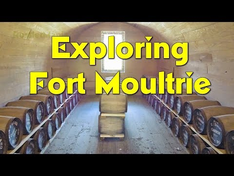RMM0088 - Exploring FORT MOULTRIE in South Carolina