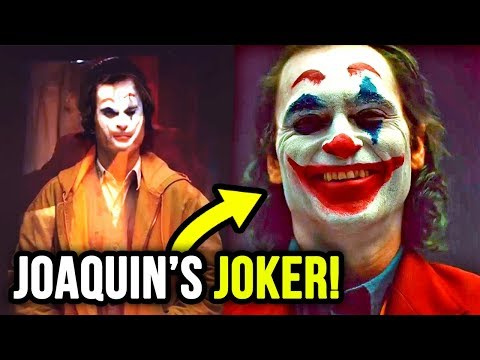 Camera Tests Reveal Joaquin Phoenix's JOKER LOOK?!