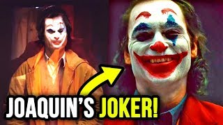 Camera Tests Reveal Joaquin Phoenix's JOKER LOOK?!