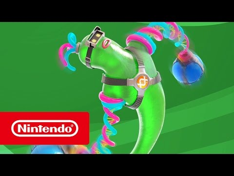 ARMS - Helix Trailer (Nintendo Switch)