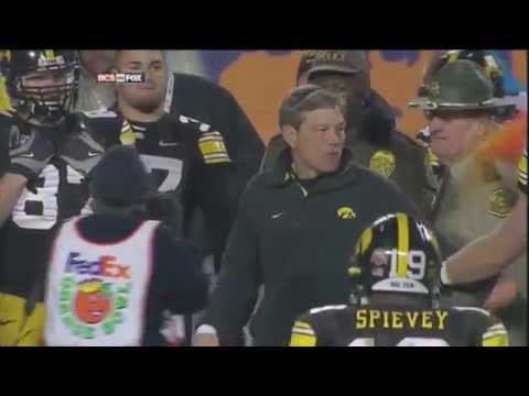 2010 Orange Bowl - Iowa vs Georgia Tech Highlights