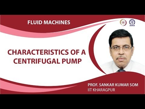 Characteristics of a Centrifugal Pump
