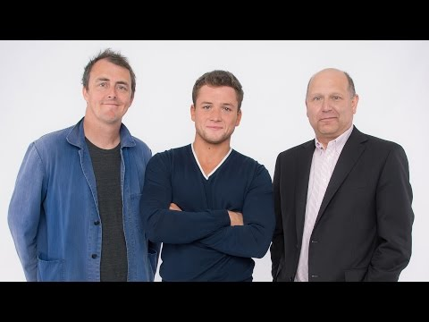Taron Egerton, Garth Jennings, and Chris Meledandri on 'Sing' at TIFF