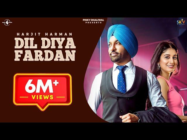 Dil Diya Fardan (Full Video) | Harjit Harman | Mix Singh | Mad 4 Music | New Song 2020