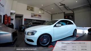 Reprogrammation moteur Mercedes Classe A 200 CDI 136 @ 171 PS - ADP Performance