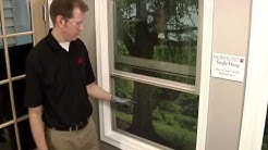 How To: Remove and Replace a Window Screen