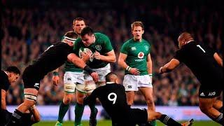 Rugby: Ireland v New Zealand 2018 - First Half