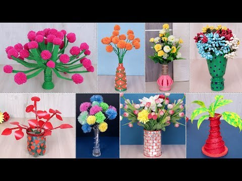 WOW !!! 10 DIY Flower Pot Ideas !!! Craft Ideas || Best Out of Waste