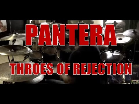 PANTERA - Throes of rejection - drum cover (HD)