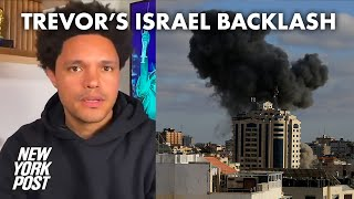 Trevor Noah ripped for comparing Israel-Hamas conflict to sibling scrap | New York Post