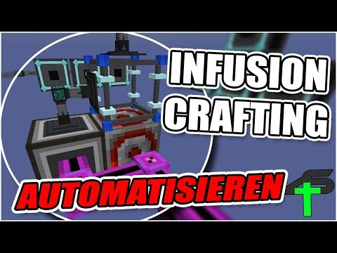 Draconic Evolution Infusion Crafting Autocrafting Tutorial | Items4Sacred [GER]