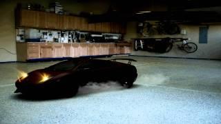 Test Ferrari Enzo C4D Thumbnail