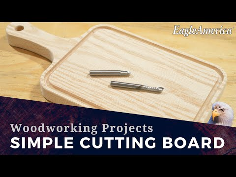 Simple Wood Projects: Make a Cutting Board