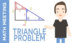 Solve the right triangle - Trigonometry Brain Teaser