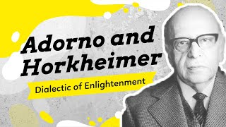 Critical Theory, The Frankfurt School, Adorno and Horkheimer, and the Culture Industries Explained