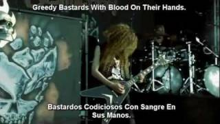 Destruction - Nailed To The Cross [Lyrics Y Subtitulado Al Español]