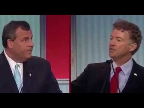 Rand Paul & Chris Christie Battle Over NSA Spying, ISIS