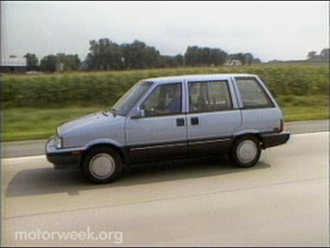 Retro Review: 1986 Nissan Stanza Wagon - YouTube
