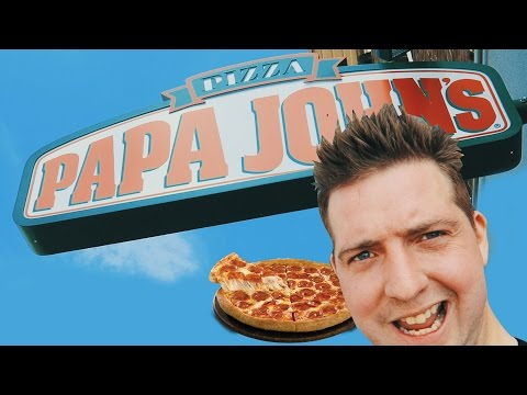 🍕Papa John's Pizza Netherlands American Hot Pizza Food Review (new shop in Utrecht!) 🍕
