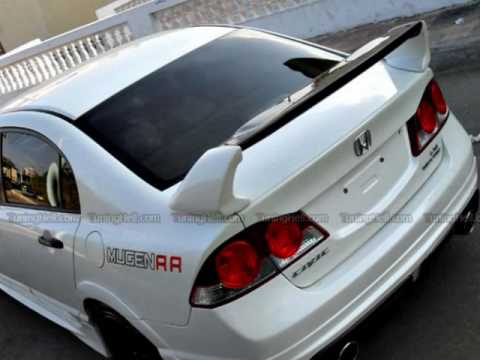 2004 Honda Civic Rims honda civic mugen RR :) - YouTube